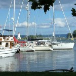 Boats at Baddeck