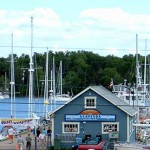 Baddeck's Government Wharf