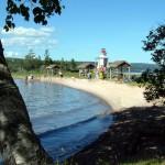 Beach at Kidston Island