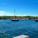 Baddeck Harbour from Kidston Island shuttle